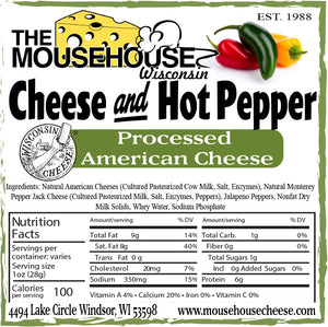 Cheese and Hot Pepper