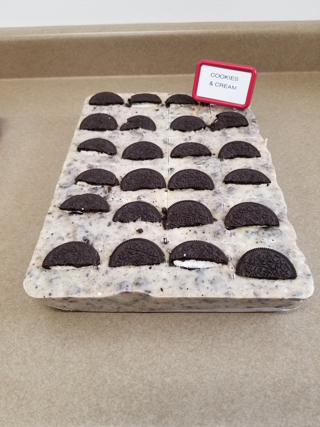 Cookies & Cream Fudge (1/2 Pound)