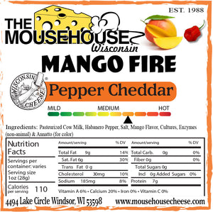 Mango Fire Pepper Cheddar