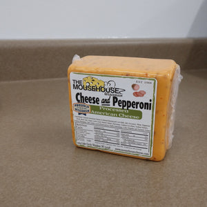 Cheese and Pepperoni