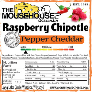 Raspberry Chipotle Pepper Cheddar