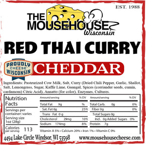 Red Thai Curry Cheddar