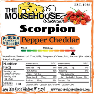 Scorpion Pepper Cheddar