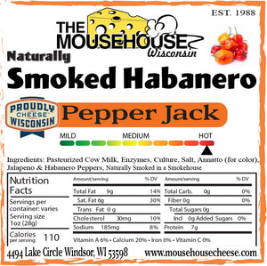 Smoked Habanero Pepper Jack