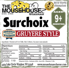 Load image into Gallery viewer, Surchoix - 7oz Gruyere