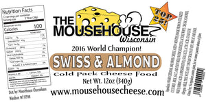 Swiss & Almond Cheddar Spread, 12 oz
