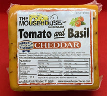 Load image into Gallery viewer, Tomato & Basil Cheddar