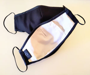 SELECTIVE HA Black Canvas Breath Mask