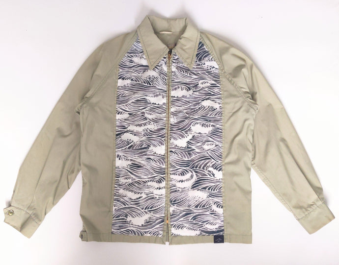 It Comes In Waves Campus Jacket