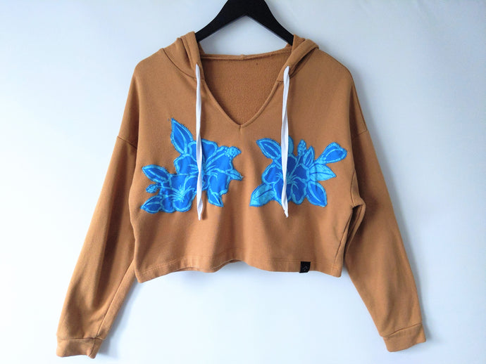 Kingfisher Crop Hoody