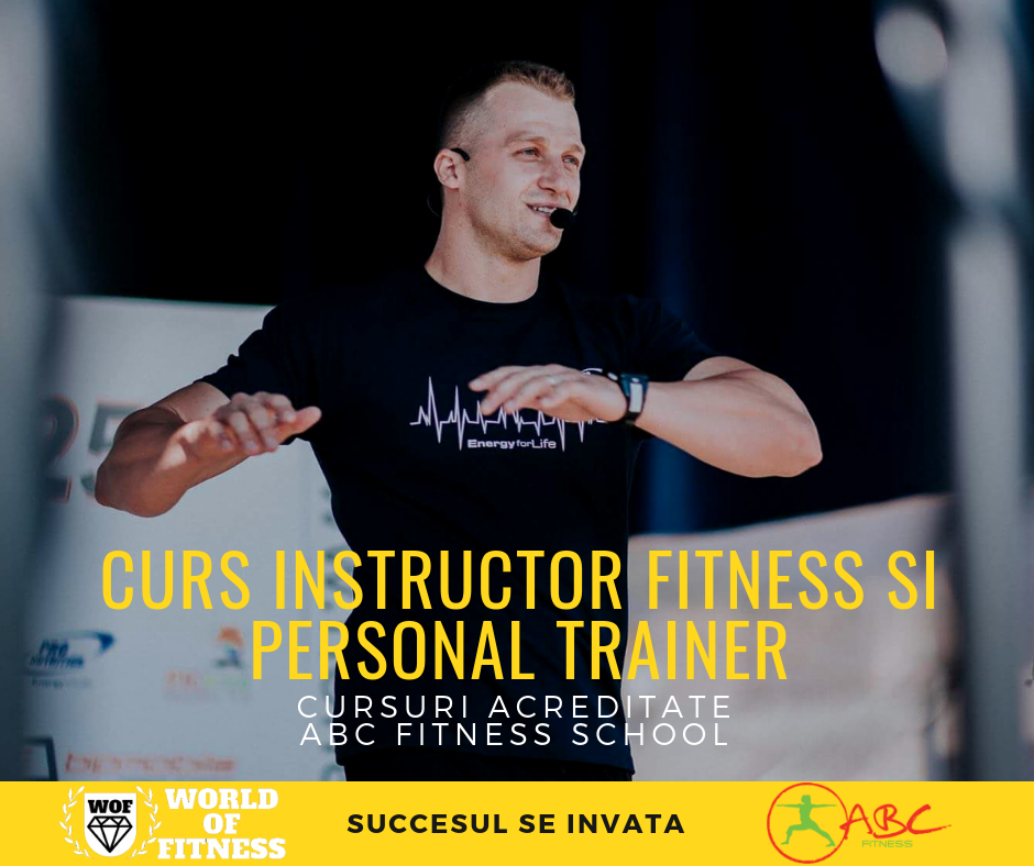 Info: Curs Instructor Fitness si Personal Trainer - ABC Fitness - World of Fitness