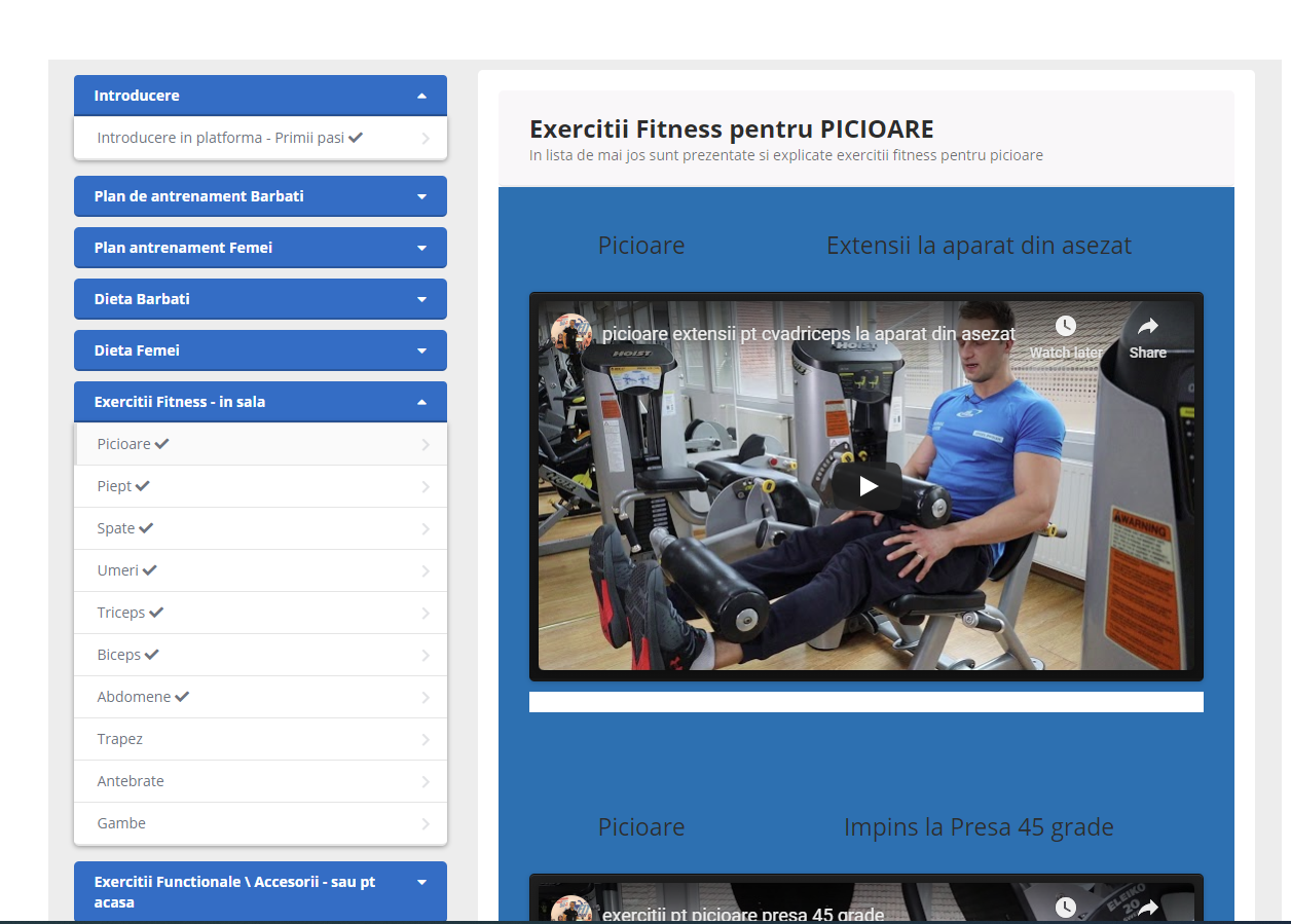 Platforma Online World of Fitness - World of Fitness Romania