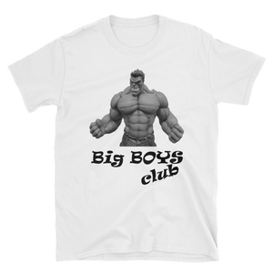 Tricou Big Boys Club - World of Fitness