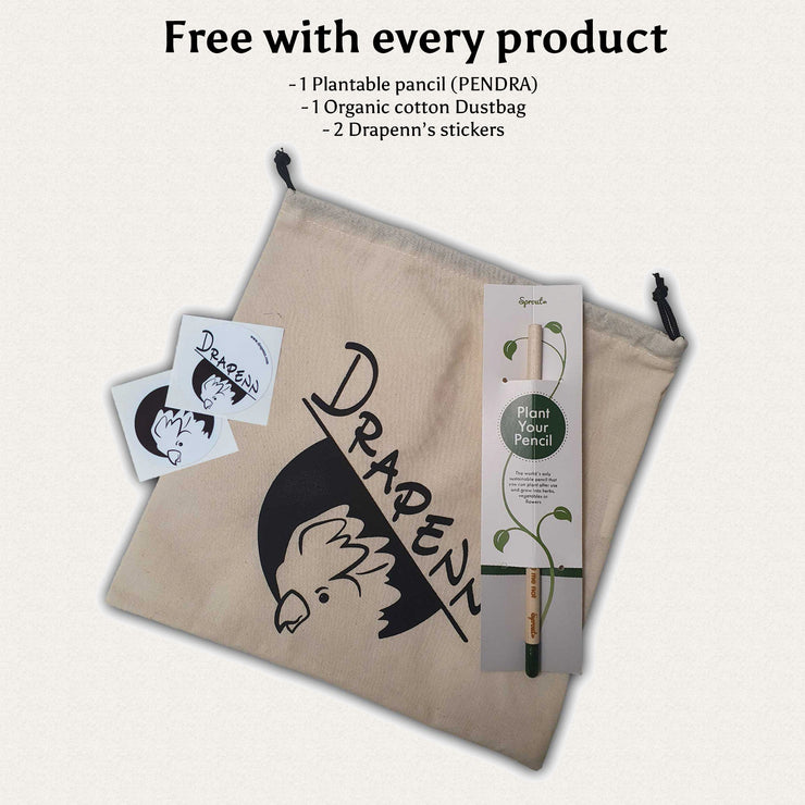 Drapenn Logo Hemp Tape - Woman