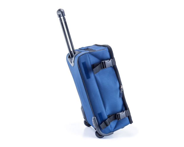 Wheeled Foldable Collapsible Trolley Handy Carry On Luggage Bag Blue Sold By ArticaUSA