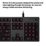 Logitech G413 Backlit Mechanical Gaming Keyboard with USB Passthrough – Carbon Sold By ArticaUS