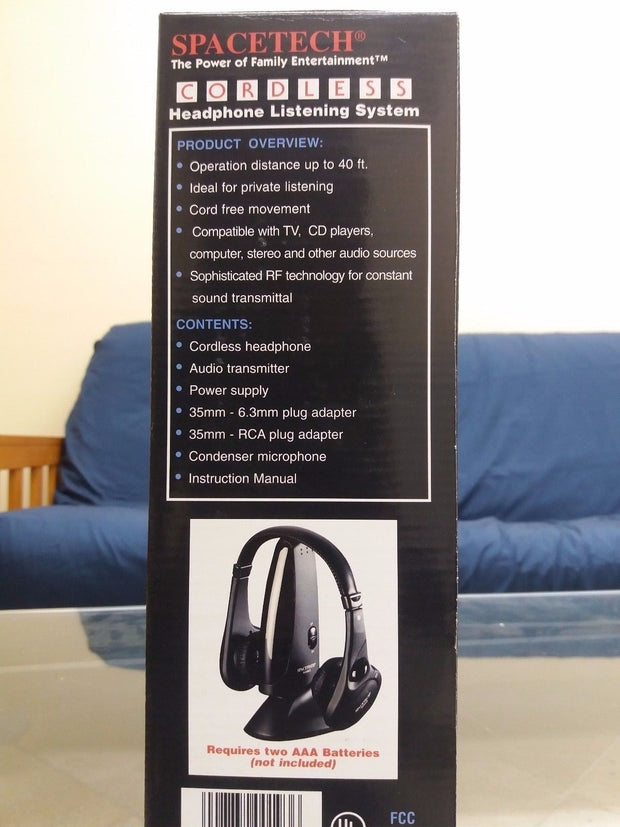 CORDLESS HEADPHONE LISTENING SYSTEM ~ ST-900 sold by Artica USA