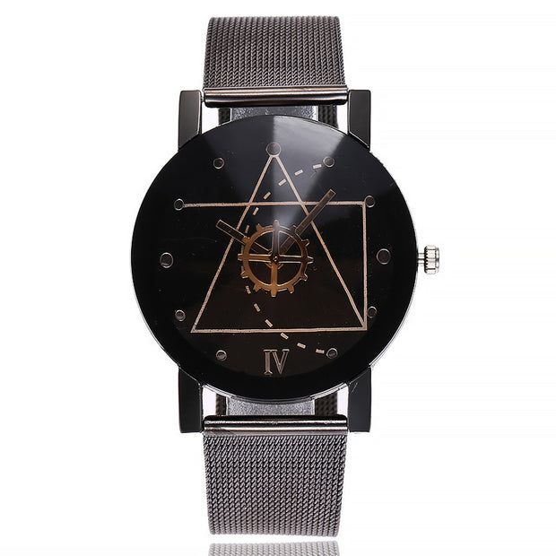 Casual Quartz Stainless Steel Band Marble Strap Watch Analog Wrist Watch Sold By ArticaUSA