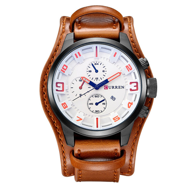 Curren Men Watches Man Clock 2018 Top Brand Luxury Army Military Steampunk Sports