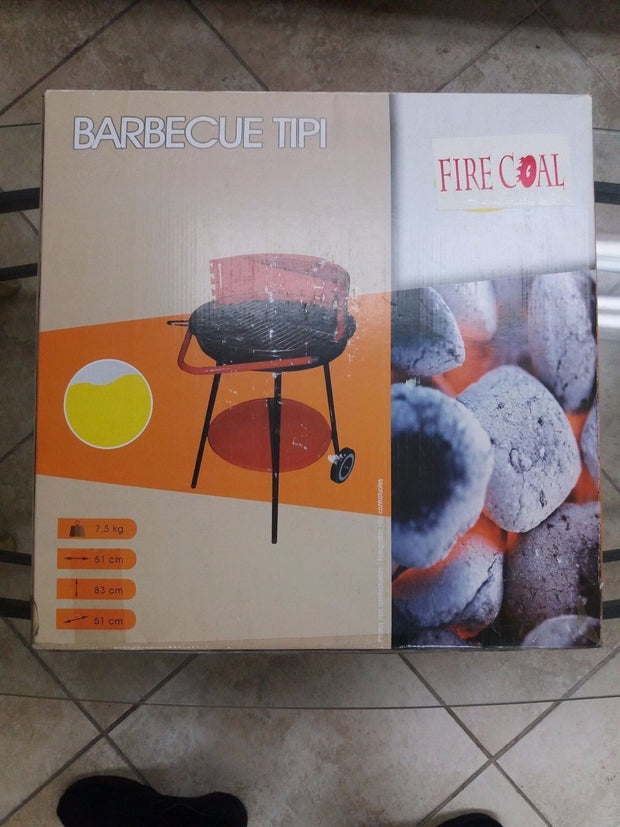 Fire Coal Barbecue Tipi 51cm Radius Charcoal Grill sold by Artica USA
