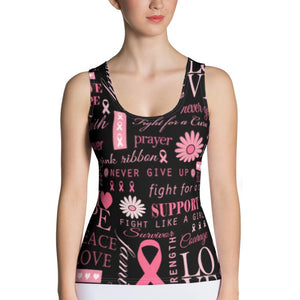 Cancer Awareness Tank Top Women's Clothing Lavender Millie