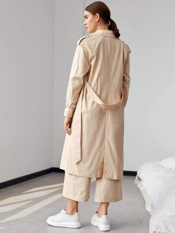 Double Breasted Trench Coat SHN-michellecanbuldu
