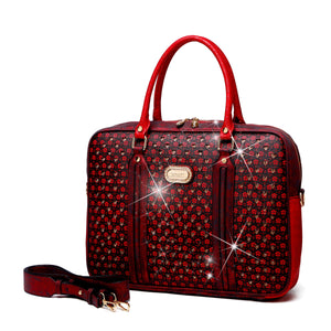Galaxy Crystal Laptop Bag Women - Bags - Briefcases Brangio Roses