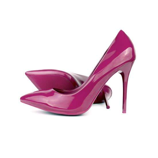 Patent Leather Pantone Pumps Faire-HOH