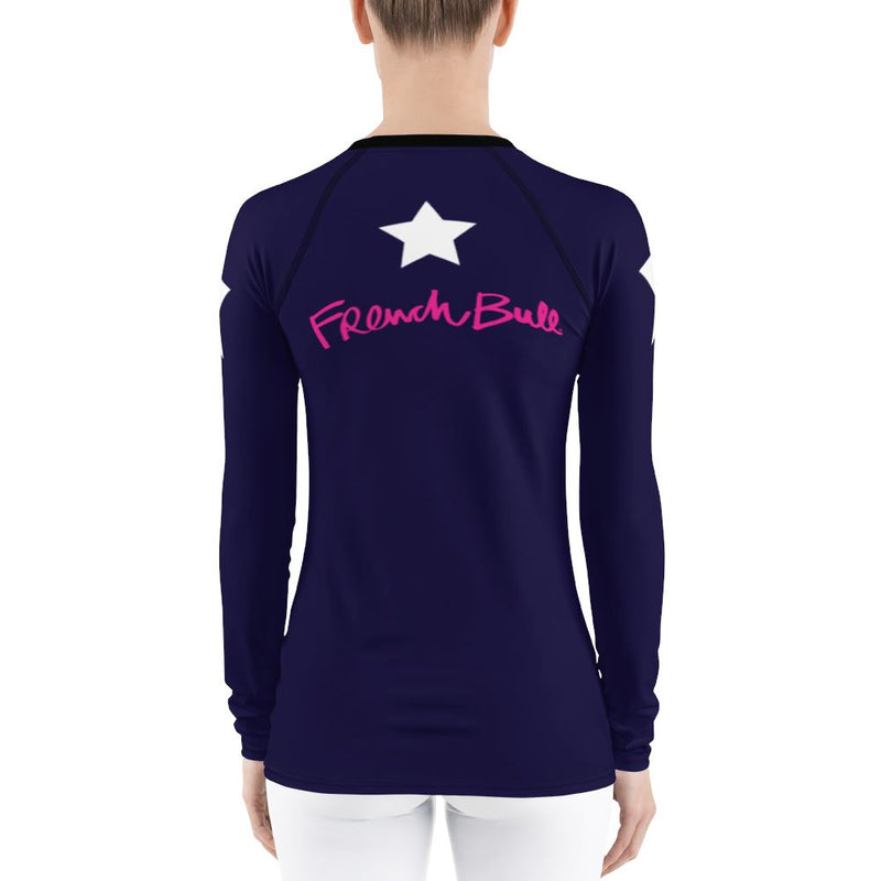 Super Star Long Sleeve TShirt (Luxury Collection) Women - Apparel - Activewear - Tops French Bull
