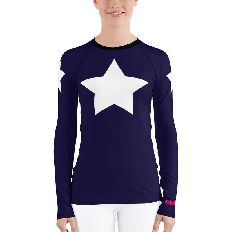 Super Star Long Sleeve TShirt (Luxury Collection) Women - Apparel - Activewear - Tops French Bull XS