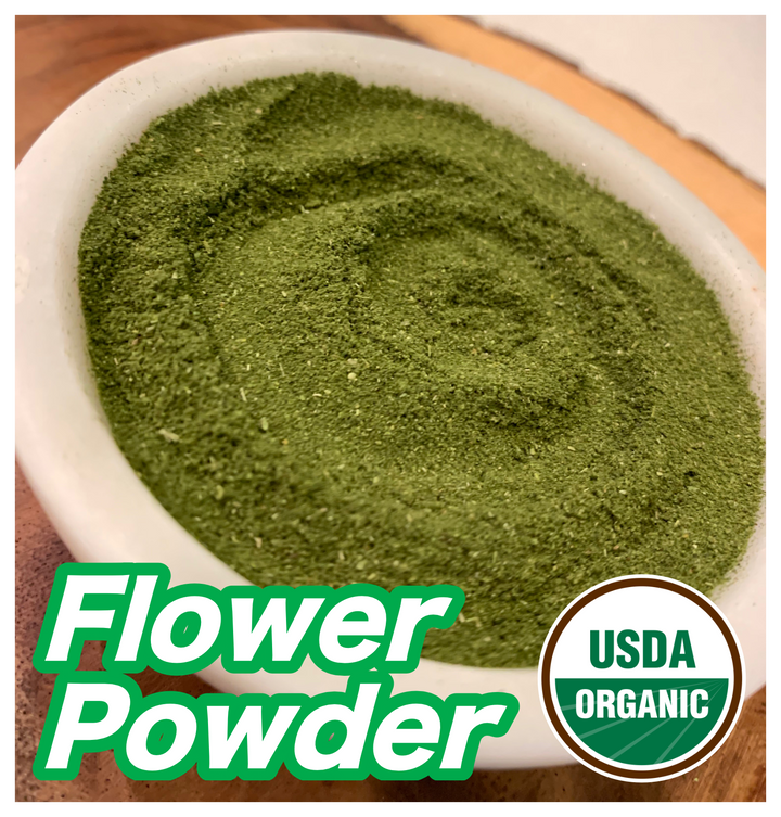 The Best CBD Products are made with Flower Powder