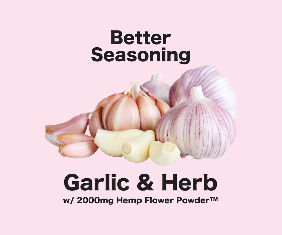 Better Seasoning: Garlic & Herb