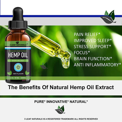 The Benefits of Natural Hemp Oil Extract