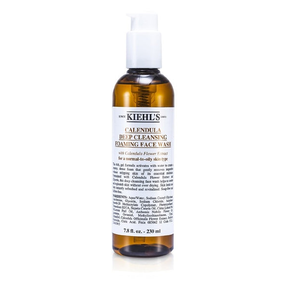 Kiehl's Calendula Deep Cleansing Foaming Face Wash-LuxuriousScents