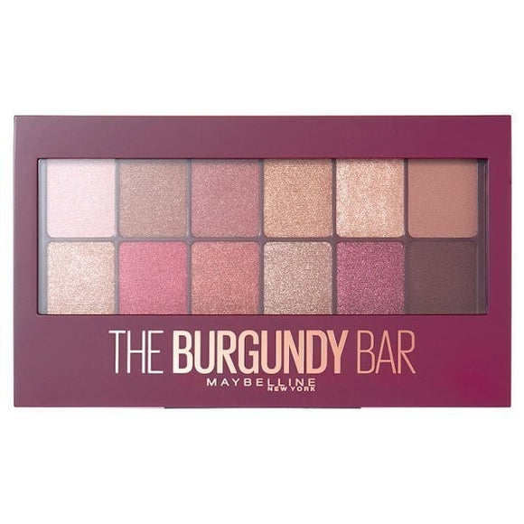 Maybelline Burgundy Bar Palette - Luxurious Scents