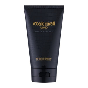Roberto Cavalli Uomo Silver Essence Shower Gel-LuxuriousScents