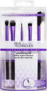 Real Techniques Enhanced Eye Set + Brush Cup - Luxurious Scents
