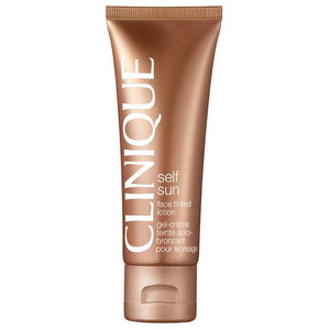 Clinique Self Sun Face Tinted Lotion-Luxurious Scents