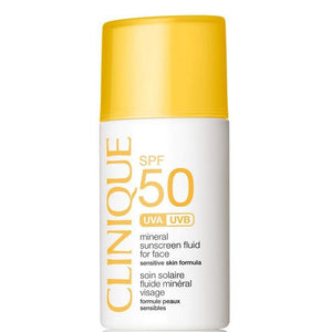 Clinique Mineral Sunscreen Fluid For Face SPF 50-Luxurious Scents