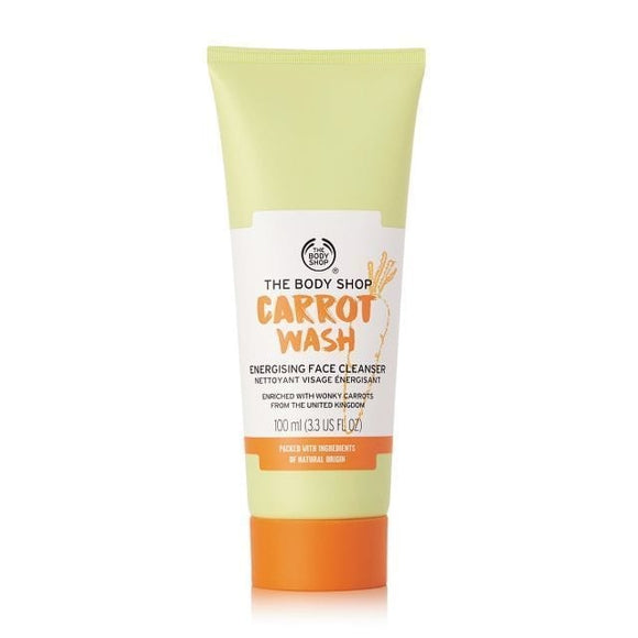 The Body Shop Carrot Wash Energizing Face Cleanser-Luxurious Scents