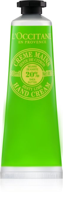 L'Occitane Shea Butter Zesty Lime Hand Cream-LuxuriousScents