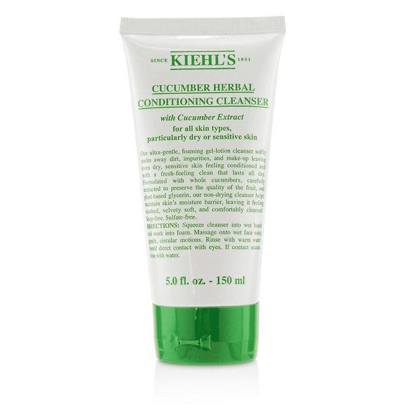 Kiehl's Cucumber Herbal Cond. Cleanser All Skin Typ-LuxuriousScents