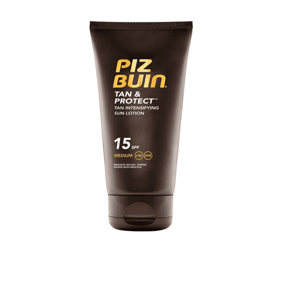 Piz Buin Tan & Protect Intens. Sun Lotion SPF15-Luxurious Scents