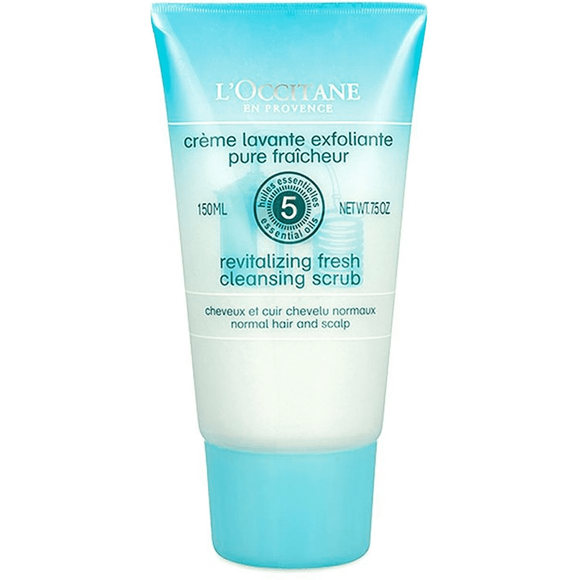 L'Occitane Cleansing Revital. Fresh Scrub Shampoo-Luxurious Scents
