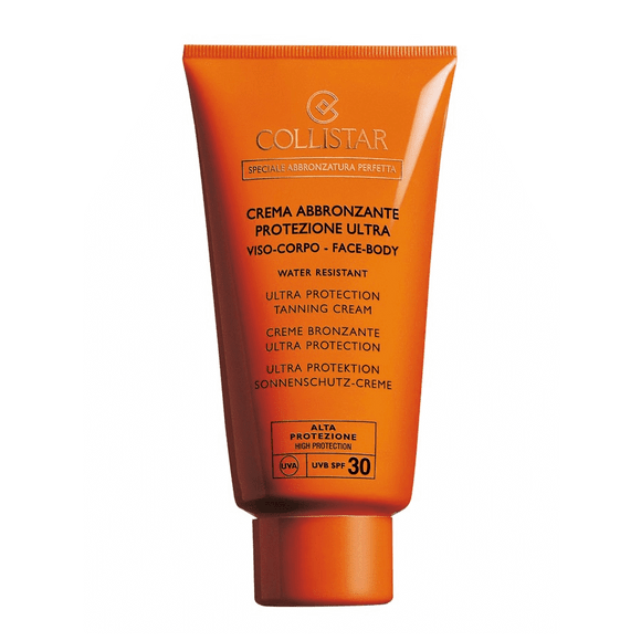 Collistar Ultra Protection Tanning Cream SPF 30-Luxurious Scents