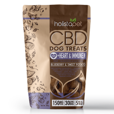 HolistaPet – 5mg CBD Dog Treats +Heart & Immune Care