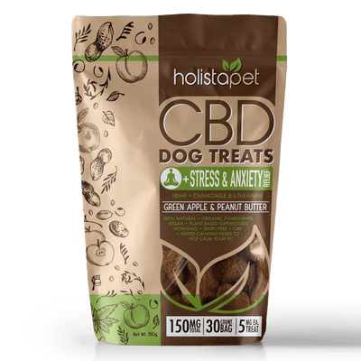 HolistaPet – 5mg CBD Dog Treats +Stress & Anxiety Relief