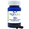 Highland Pharms CBD Plus Hemp Softgel Capsules - 30 Count (450mg CBD)