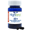 Highland Pharms CBD Plus Hemp Softgel Capsules - 30 Count (1500mg CBD)