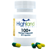 Highland Pharms CBD Plus Hemp Vegan Capsules - 30 Count (3000mg CBD)